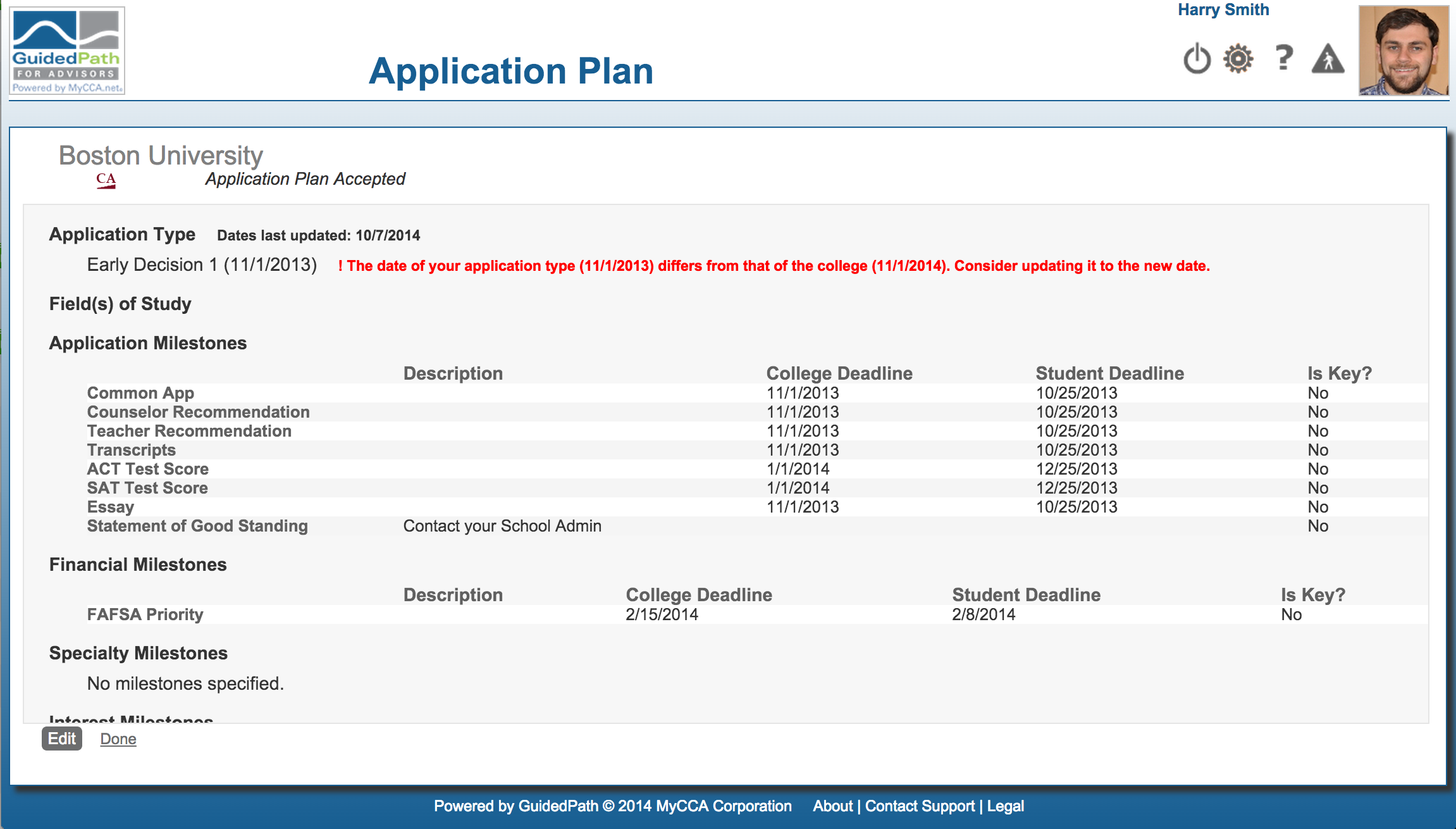 college data now updated guidedpath screen shot 2014 10 08 at 3 02 11 pm