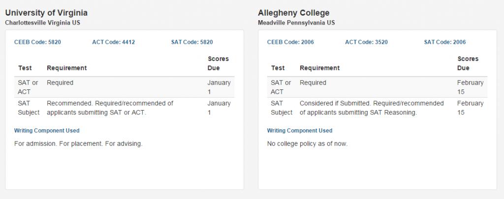 test report screenshot